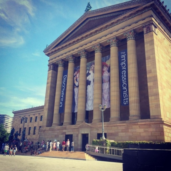 My visit to the Philadelphia Museum of Art
